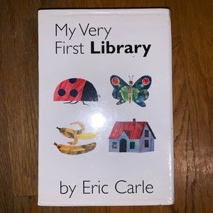 NIB Eric Carle My First Books Collection Sealed